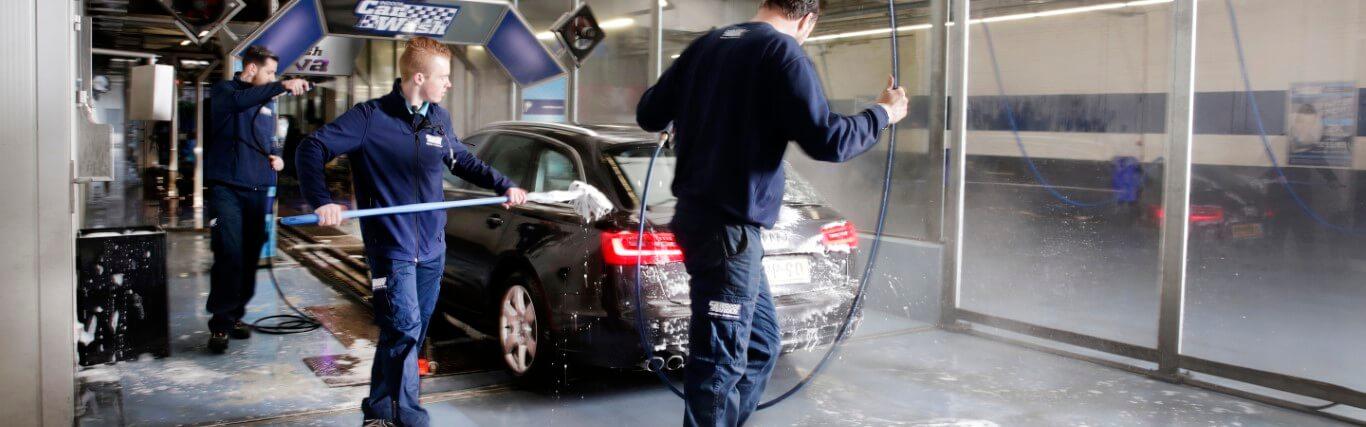 De Waard Beroepskleding. Car Wash