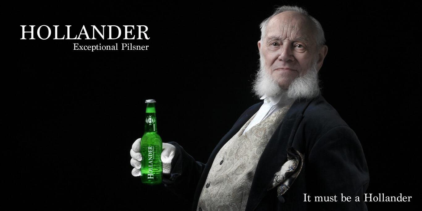 Fotografie voor reclamecampagne 'Hollanderbier'