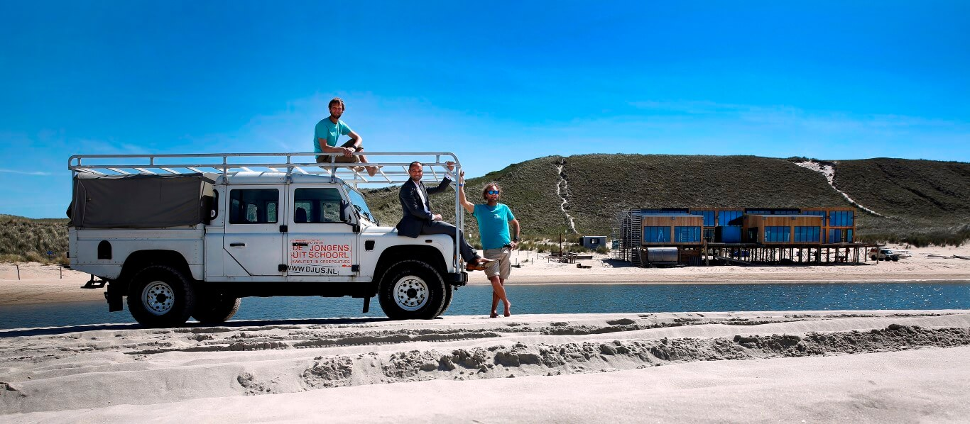 DJUS 'De Jongens uit Schoorl' voor Rabobank magazine 'Rabo & co'