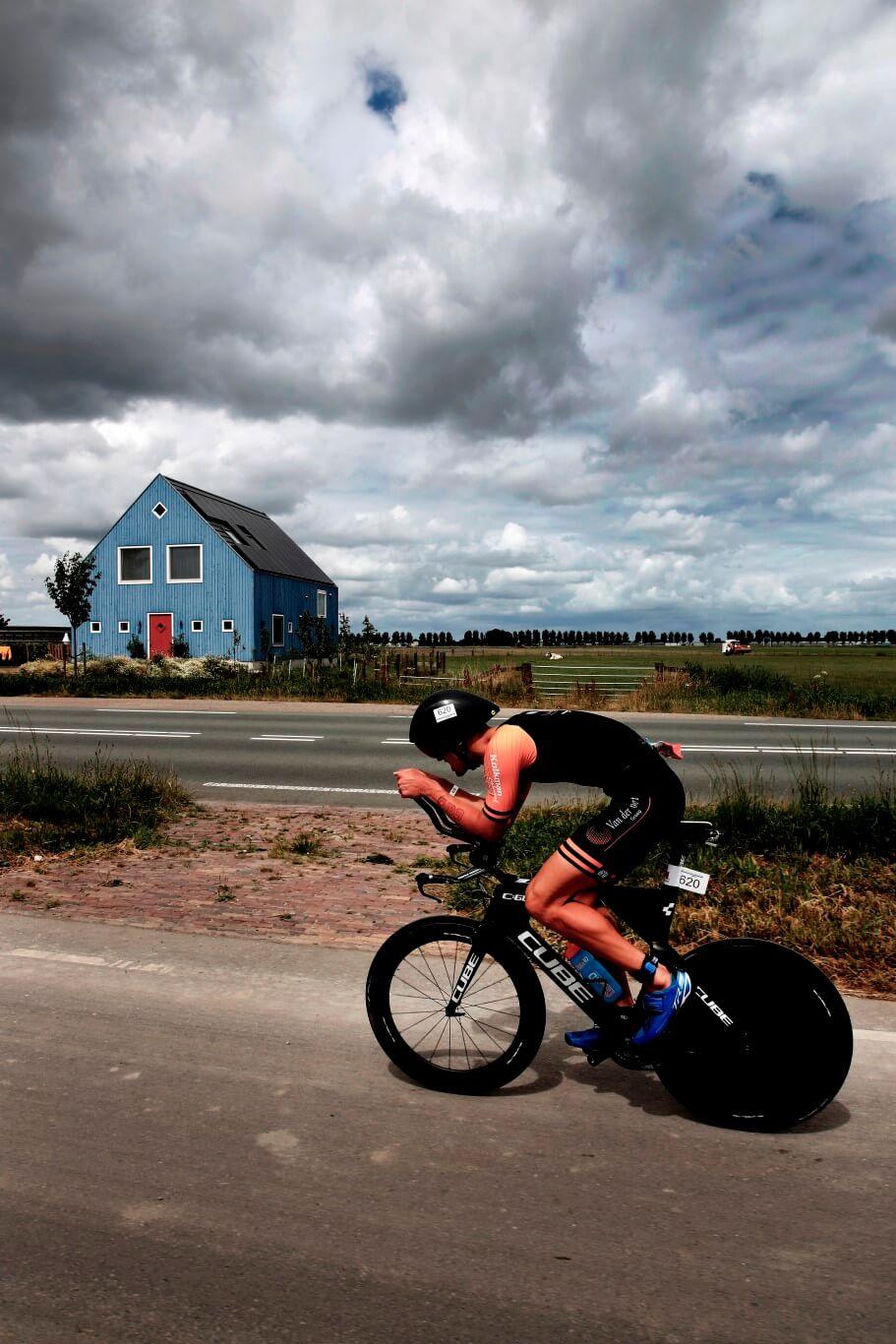 Reclamefotografie voor website 'Iron man Nederland', Hoorn